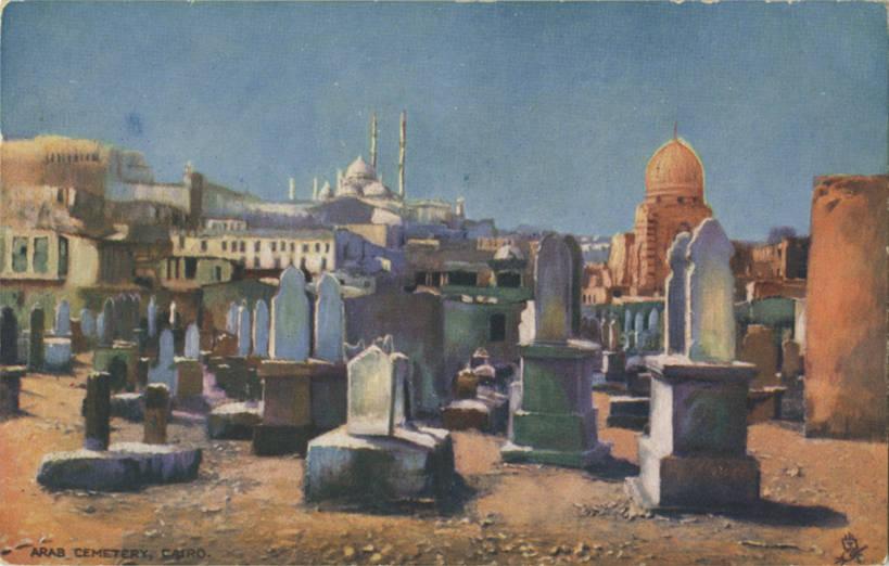 Arab Cemetery Cairo