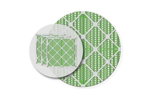 فلتر توفير الطاقة KOOLX-ECO360® HVAC لتطهير الهواء الداخلي